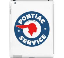Pontiac Service vintage sign iPad Case/Skin