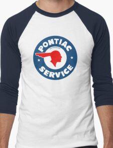 Pontiac Service vintage sign Men's Baseball ¾ T-Shirt