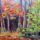 Autumn Wood by bevmorgan
