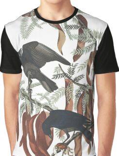 Fish Crow - John James Audubon Graphic T-Shirt