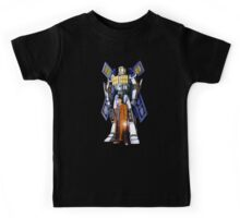 Giant Robot Phone Box with The Doctor Kids Tee