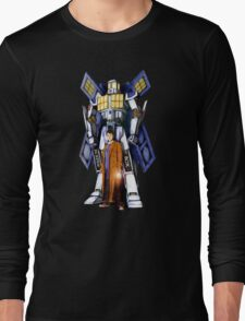 Giant Robot Phone Box with The Doctor Long Sleeve T-Shirt