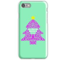Christmas Cure - Pink iPhone Case/Skin