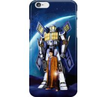 Giant Robot Phone Box with The Doctor iPhone Case/Skin