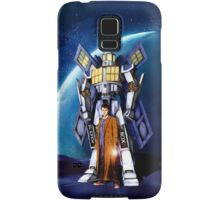 Giant Robot Phone Box with The Doctor Samsung Galaxy Case/Skin