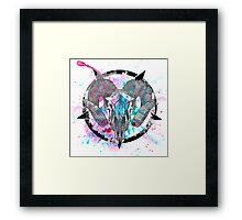 Watercolor Witchcraft Framed Print