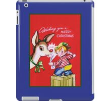 Polishing Rudolph's Nose iPad Case/Skin