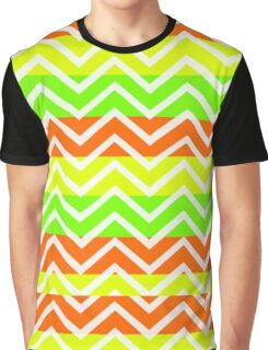 trendy neon zigzags Graphic T-Shirt