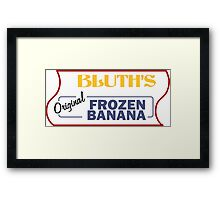 Frozen Banana Stand - Arrested Development Framed Print
