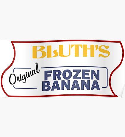 Frozen Banana Stand - Arrested Development Poster