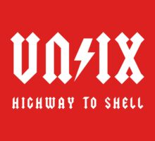 Highway to Shell (white) Kids Clothes