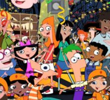Phineas and Ferb Carpe Diem Sticker