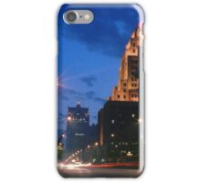 Downtown Milwaukee at Dusk iPhone Case/Skin