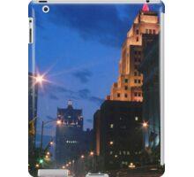 Downtown Milwaukee at Dusk iPad Case/Skin