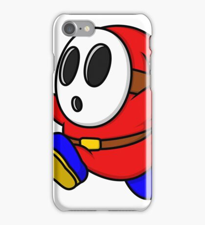 Red Shyguy iPhone Case/Skin