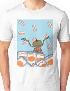 Clarence raining - The Big Lez Show Unisex T-Shirt