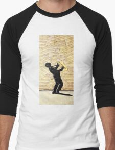 Sax Man Men's Baseball ¾ T-Shirt