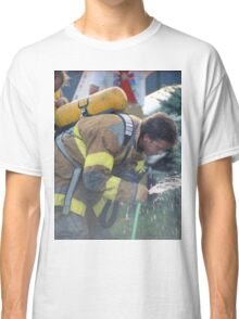 A Much Needed Break for a Firefighter Classic T-Shirt