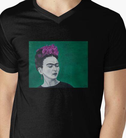 Estoy sola Mens V-Neck T-Shirt