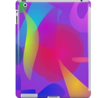 Abstract Color Relaxation iPad Case/Skin