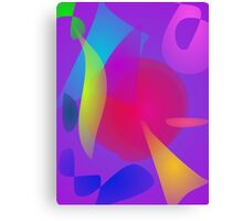 Abstract Color Relaxation Canvas Print