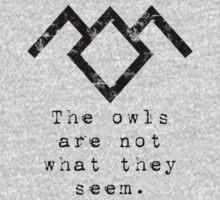 Suspicious owls by OhMyDog