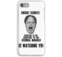 Big Dwight Brother iPhone Case/Skin