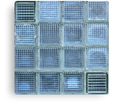 Blue Cube Canvas Print