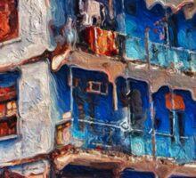 The Blue House, Wanchai Sticker