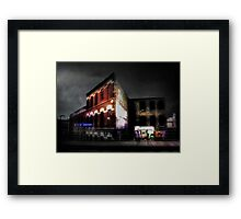 The El Stop (Remembering Chicago) Framed Print