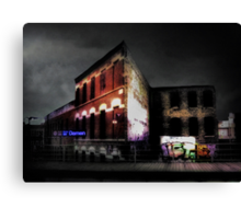The El Stop (Remembering Chicago) Canvas Print