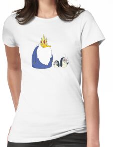 Quasimoto x MF DOOM x Ice king Womens Fitted T-Shirt