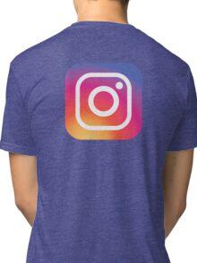 New Instagram LOGO Tri-blend T-Shirt