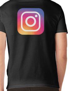 New Instagram LOGO Mens V-Neck T-Shirt
