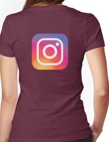 New Instagram LOGO Womens Fitted T-Shirt