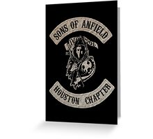 Sons of Anfield - Houston Chapter Greeting Card