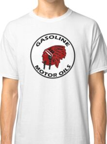 Red Indian Gasoline vintage sign reproduction Classic T-Shirt
