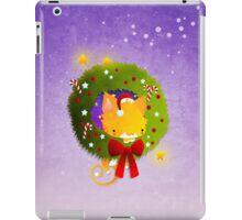 Xmas Christmas Wreath iPad Case/Skin