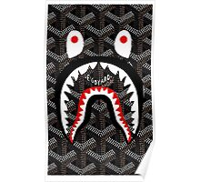 shark bape goyard Poster