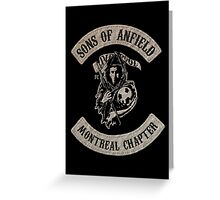 Sons of Anfield - Montréal Chapter Greeting Card
