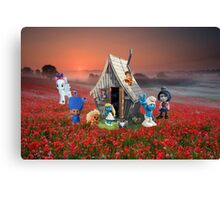 TROLLS ON HOLIDAYS Canvas Print