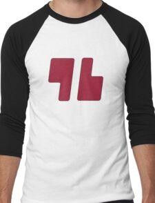 Trainer Red Shirt Men's Baseball ¾ T-Shirt