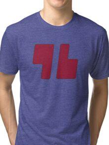 Trainer Red Shirt Tri-blend T-Shirt