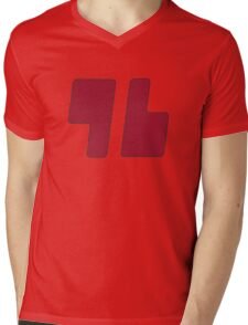 Trainer Red Shirt Mens V-Neck T-Shirt