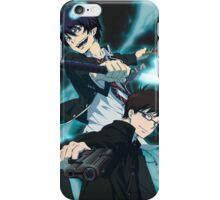 Blue Exorcist-Rin & Yukio iPhone Case/Skin