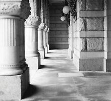 Milwaukee Federal Courthouse Hallway by Timothy  Ruf