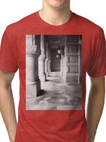 Milwaukee Federal Courthouse Hallway Tri-blend T-Shirt