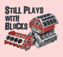 Still Plays With Blocks One Piece - Long Sleeve