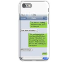 Outlander Today Jamie & Claire Texts: Best Of iPhone Case/Skin
