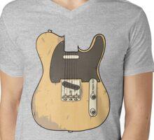 Telecaster Mens V-Neck T-Shirt